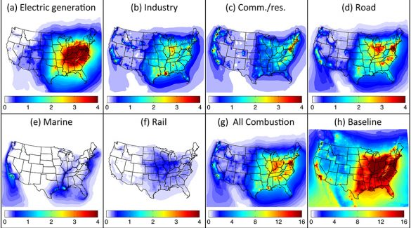 MIT Study: Air Pollution Causes 200,000 Early Deaths Each Year in the U.S.